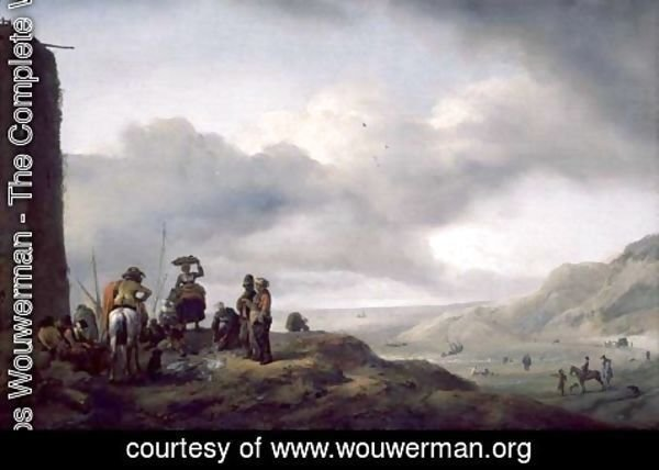 Philips Wouwerman - The Day's Catch