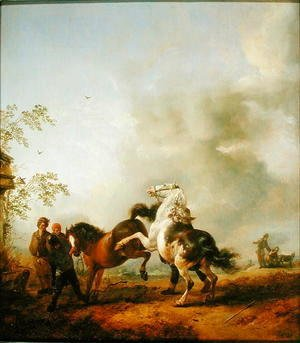 Philips Wouwerman - The Stallion