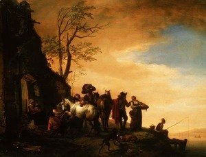 Philips Wouwerman - The Farrier