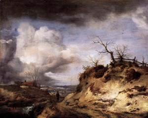 Philips Wouwerman - Path through the Dunes