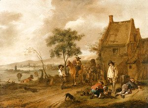 Philips Wouwerman - Untitled